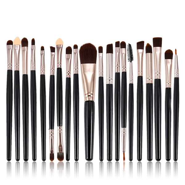 Brushes 20pcs Eye Makeup Blending
