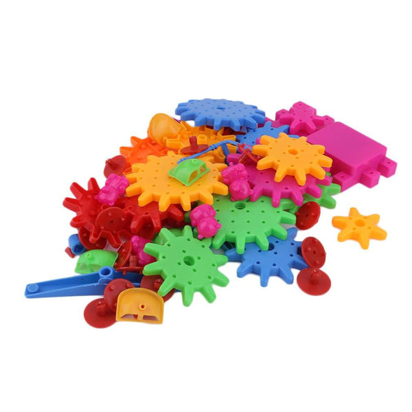 Plastic 3D DIY Building Blocks Toy Educational