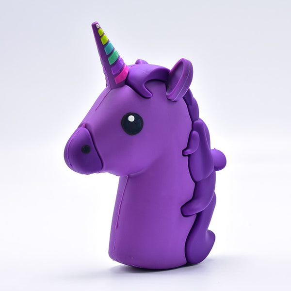 New Arrival 8800mah Unicorn Powerbank Cute Portable Emoji Power Bank