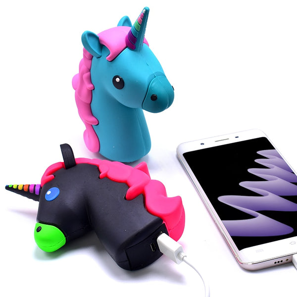 8800mah Unicorn Powerbank Cute Portable Charger Cartoon