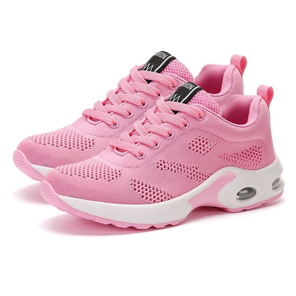 Woman Outdoor Running Sport Shoes platform Sneakers