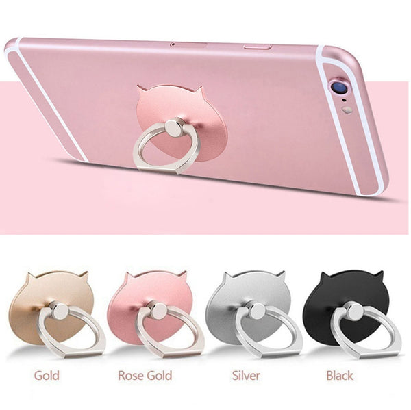 Dropshipping 2 Pcs Metal Ring Stand effectively prevent falling down Applied Mobile Phone