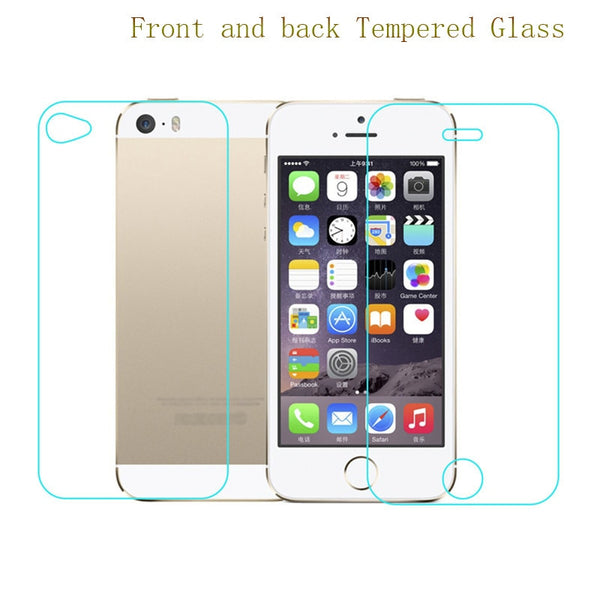 9H HD Front+Back Full Body Premium Tempered Glass Screen Protector On The For