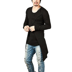 Hoodies Personality Men's Casual Slim Long Sleeve