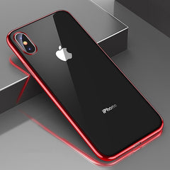 Silicone Phone Case For iPhone xs max xr xs 10 8 7 6 6S S Plus 5