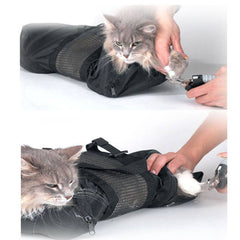 Cat Grooming Bath Bag Washing For Pet Bathing Nail Trimming Injecting