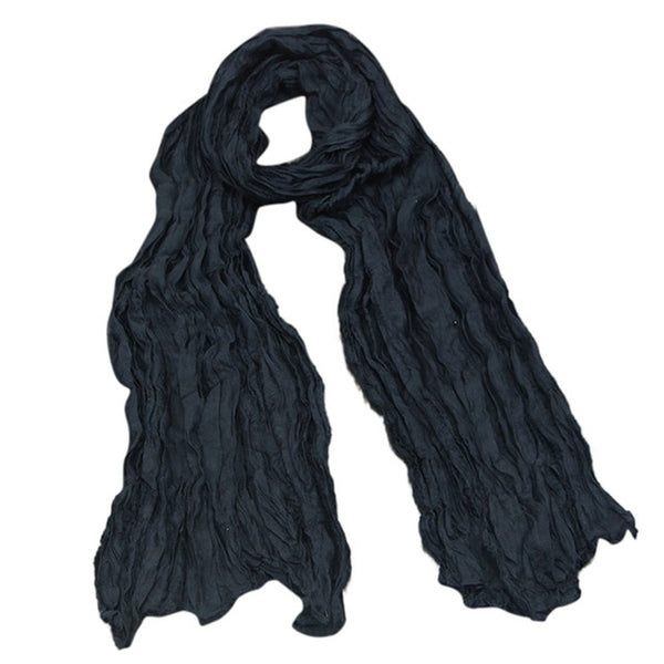 Women Point Printing Scarf Retro
