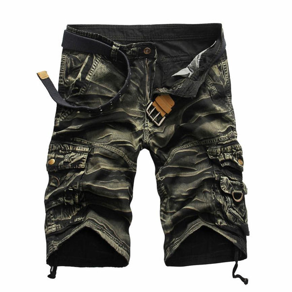 Men's Work Short Pants Camouflage Casual Pocket