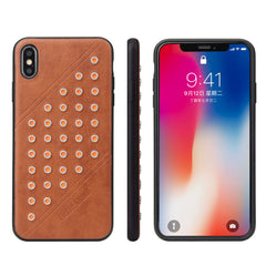 Luxury Leather Case Slim  Back Phone Cover For iPhone XS XS Max