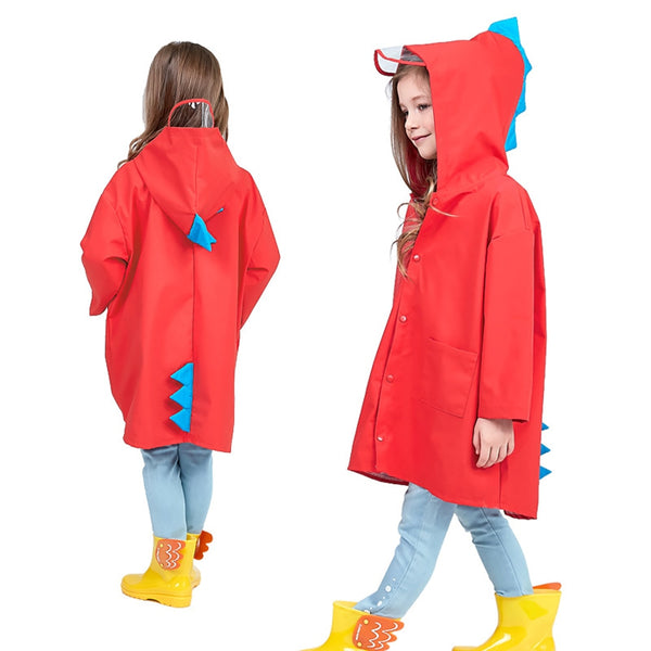Waterproof Kids Rain Coat For Children Rainwear