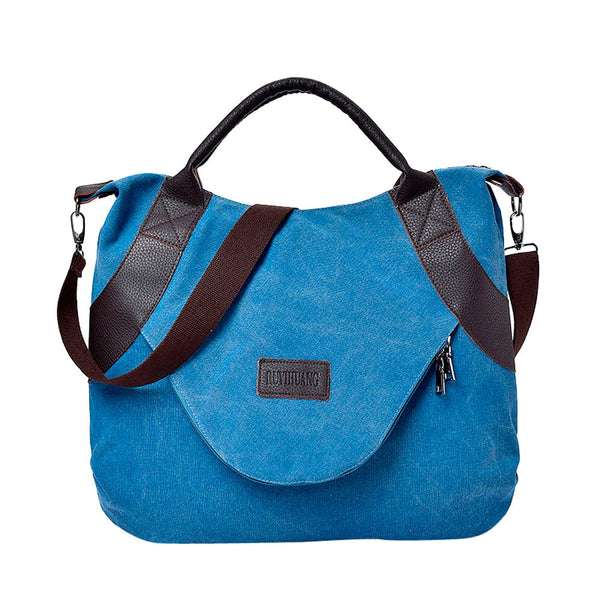Canvas Tote Handbag Women's Casual Large Capacity