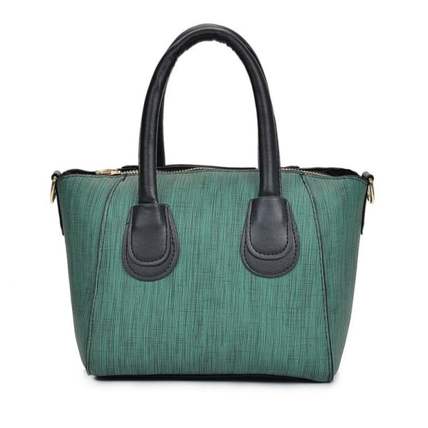 Women Casual Tote Handbag Zipper