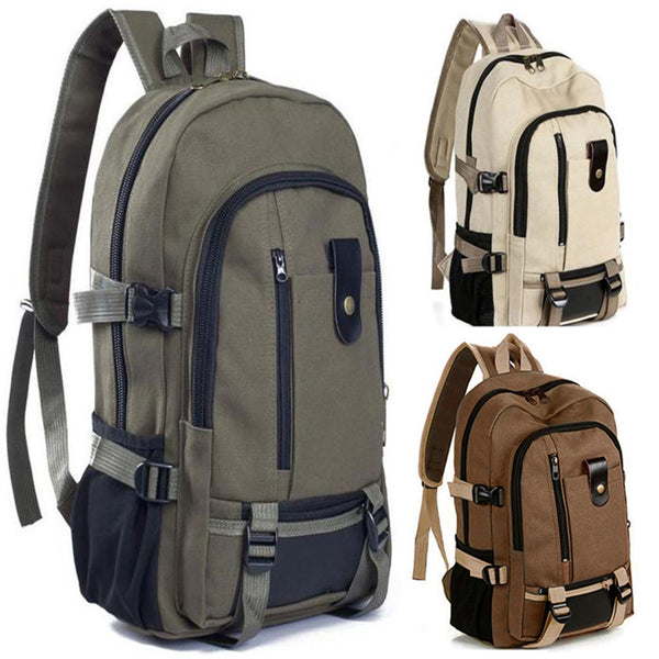 Men Travel Rucksack bucket Backpack