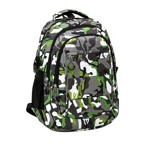 Luxury Design Camouflage Nylon Climb Shoulder Bag