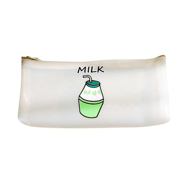 Printing Cute Cartoon Stationery Cosmetic Women Bags