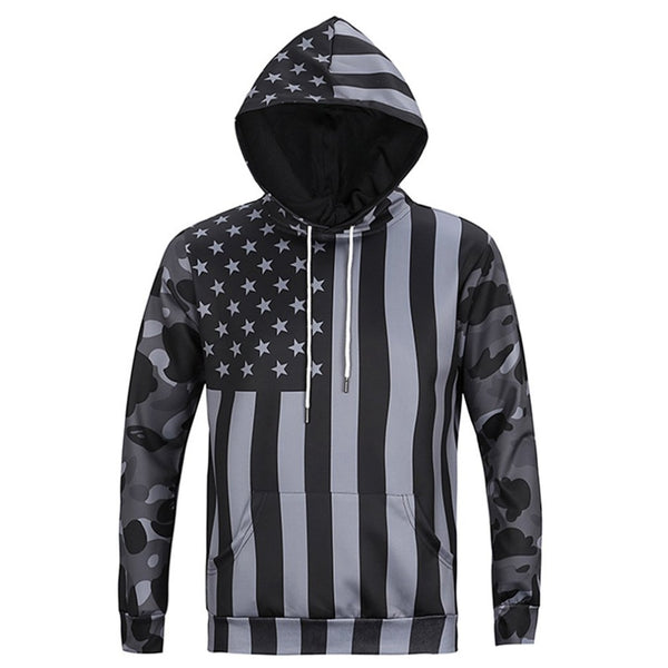 Men's Cool Hoodies Autumn Long Sleeve 3D Print