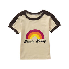 Kids Children Unisex T-shirt Baby Girls Tops