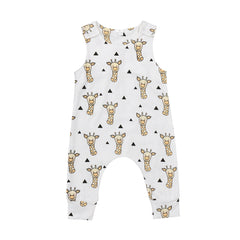 Baby Boys Rompers Summer Clothes Cute Cartoon