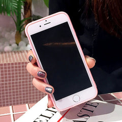 Lovely 3D Love Heart Cute hair Phone Case Cover For iphone 6/7/8/s/Plus Cases