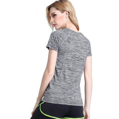 Women Sports Yoga T Shirt Fitness Running Tops