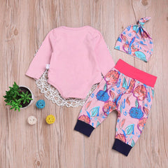Kids Baby Girls Outfits Clothes Set