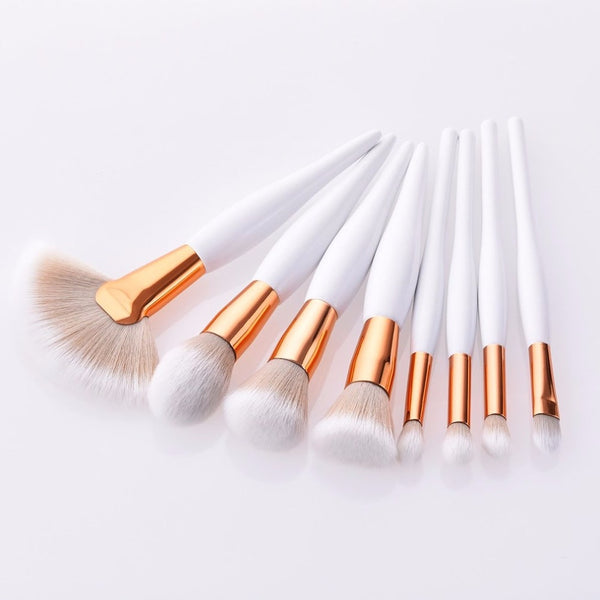 8 pcs/set Makeup Brushes Creative Wood Handle