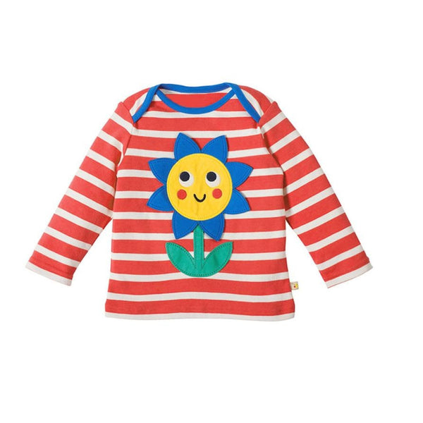 Toddler Baby Girl Flower Printing Tops
