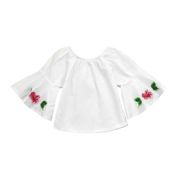 Baby Girls Infant Floral Soft Toddler Tops