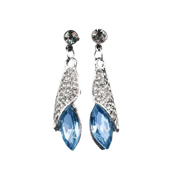 Art Form Drop Earrings Crystal fashion Jewelry