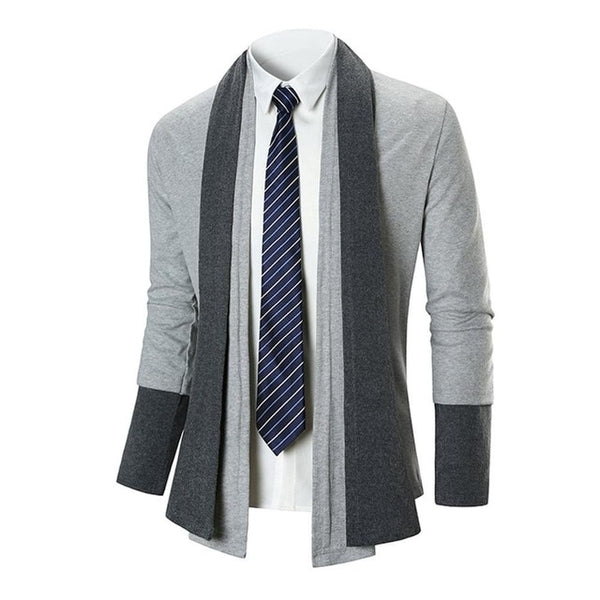 Autumn Winter Men's Coat Casual Sweater Long