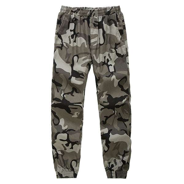 Military Men Long Pants Hip Hop Autumn Winter