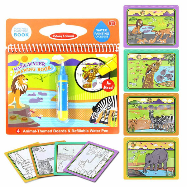 Water Painting Board Drawing Toys Magic Graffiti Animals