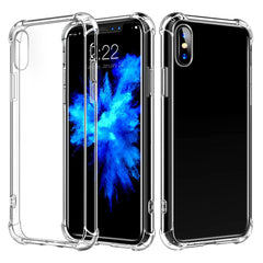 XS X 6 6S Plus 7 8 Plus Transparent protective Back Cover