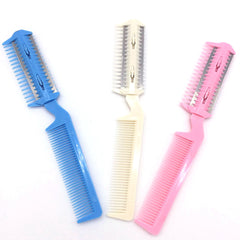 Pet Hair Trimming Razor Grooming Comb Blades Thinning Hairdressing