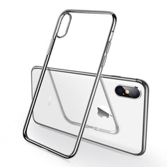 iphone X 7 6 8 plus case for iphone Xs Max XR transparent