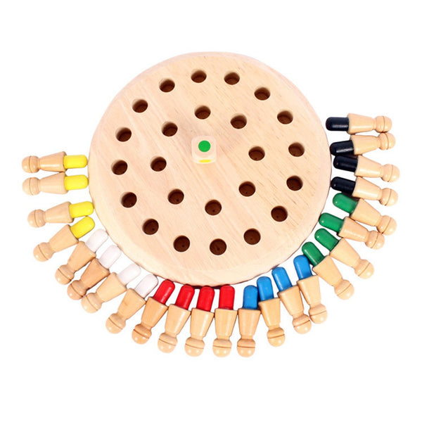 Kids Memory Match Stick Chess Wooden Educational Toys