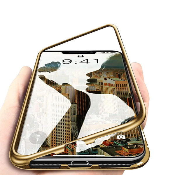 iPhone XS/XS Max/XR 5.8/6.5/6.1 inch Magnetic Adsorption Metal