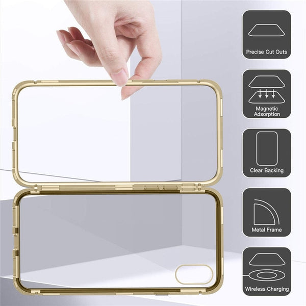 For iPhone XS/XS Max/XR 5.8/6.5/6.1 inch Magnetic Adsorption