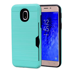 Phone Case Card Slots Wallet Holder protection For Samsung Galaxy J7