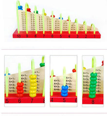 Multicolor Wooden Abacus Soroban Educational Math Toys