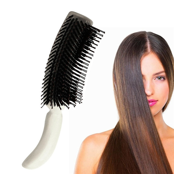 Small Plastic Vent Hair Brush Comb