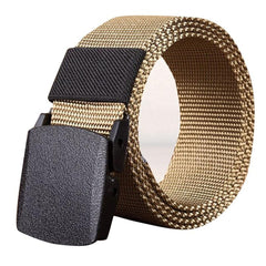 Men's Belts Casual Automatic 4 Sizes Buckle Canvas