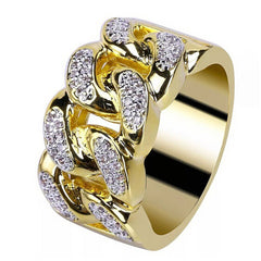 Men and Women Electroplate Gold quality Ring Jewelry