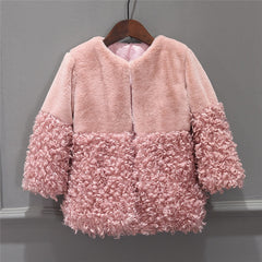 Toddler Baby Girls Jackets  Winter Warm Coat