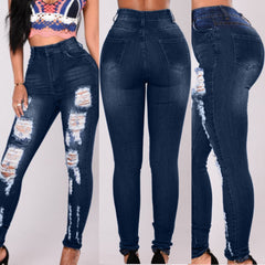 Woman Leggings Skinny High Waist Jeans Pencil Pants