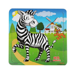 Wooden Animals Puzzle Educational Developmental Baby Kids Toy