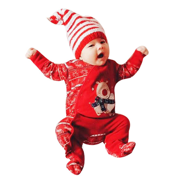 Rompers Infant Baby Girls Warm Winter