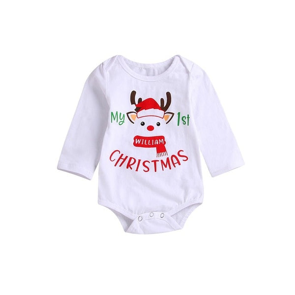 Baby Rompers Long Sleeve Cartoon Deer