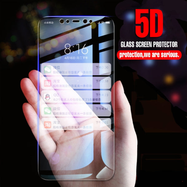 9H 5D Tempered Glass for IPhone X Glass Protector for Iphone 7 8 8 Plus