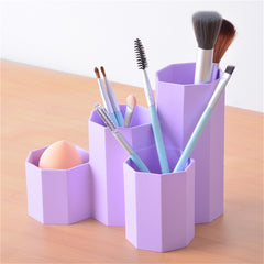 1PC Container Makeup Brushes Storage Rack
